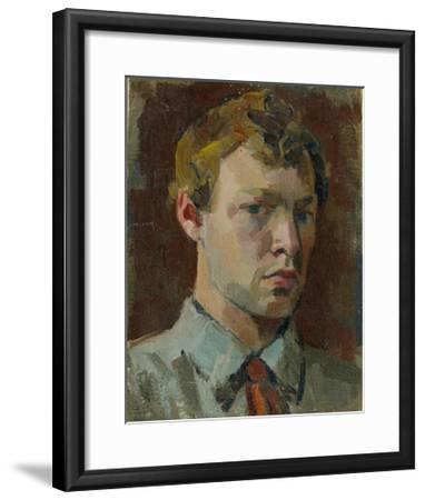 Self-Portrait, 1920S-Sergei Mikhaylovich Luppov-Framed Giclee Print