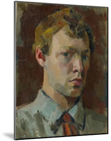 Self-Portrait, 1920S-Sergei Mikhaylovich Luppov-Mounted Giclee Print