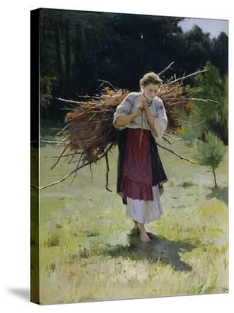 From the Forest, 1900-Nikolai Kornilovich Pimonenko-Stretched Canvas Print