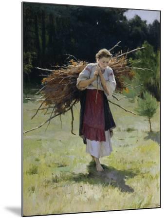From the Forest, 1900-Nikolai Kornilovich Pimonenko-Mounted Giclee Print