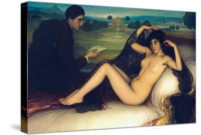 Venus of Poetry, 1913-Julio Romero de Torres-Stretched Canvas Print