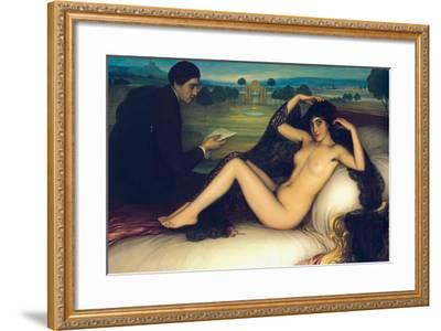 Venus of Poetry, 1913-Julio Romero de Torres-Framed Giclee Print
