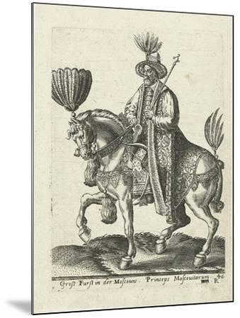 Grand Duke of Muscovy, 1577-Abraham de Bruyn-Mounted Giclee Print