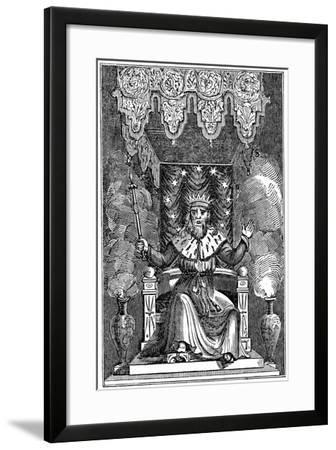 Thor, the Second God in the Ancient Scandinavian Pantheon, 1834--Framed Giclee Print