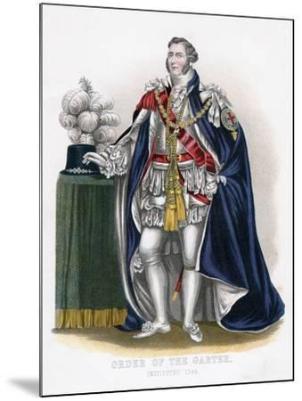 Order of the Garter, 19th Century--Mounted Giclee Print