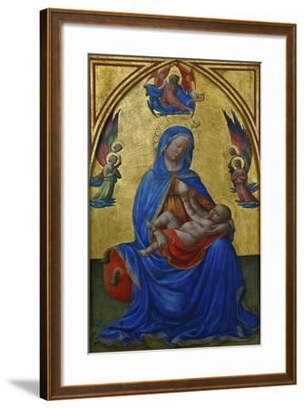 Virgin and Child, Ca 1435-Masolino Da Panicale-Framed Giclee Print