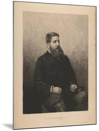 Portrait of James-Edouard De Rothschild (1844-188), 1870S-Daniel Charles Marie Mordant-Mounted Giclee Print
