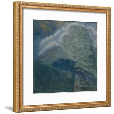 Storm Lovers, 1908-Pyotr Savvich Utkin-Framed Giclee Print