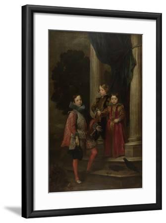 The Balbi Children, C. 1626-Sir Anthony Van Dyck-Framed Giclee Print