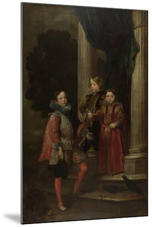 The Balbi Children, C. 1626-Sir Anthony Van Dyck-Mounted Giclee Print