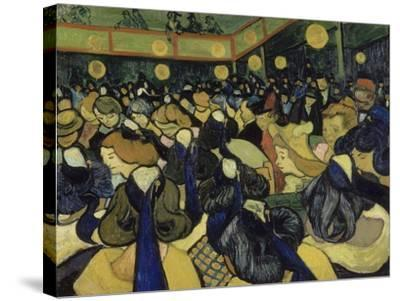The Dance Hall in Arles, 1888-Vincent van Gogh-Stretched Canvas Print