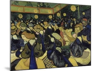 The Dance Hall in Arles, 1888-Vincent van Gogh-Mounted Giclee Print