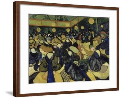 The Dance Hall in Arles, 1888-Vincent van Gogh-Framed Giclee Print