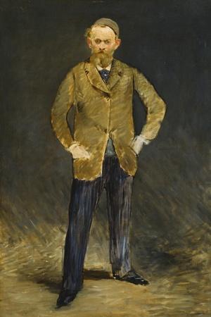 Self-Portrait, 1878-1879-Edouard Manet-Framed Giclee Print
