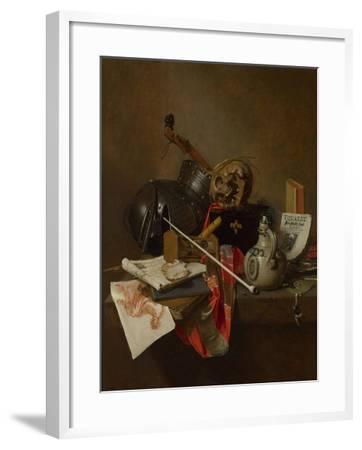 Vanitas Still Life, 1648-Jan Jansz Treck-Framed Giclee Print
