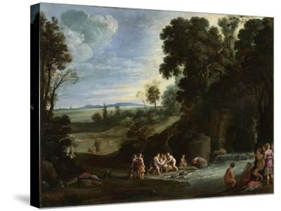 Diana and Callisto, 1620S-Paul Brill-Stretched Canvas Print