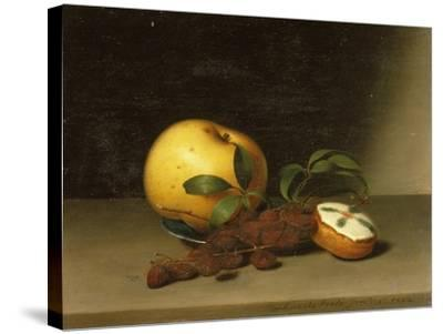 Still Life with Cake, 1822-Raphaelle Peale-Stretched Canvas Print