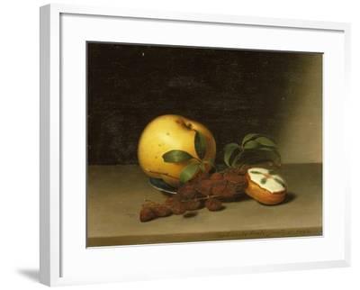 Still Life with Cake, 1822-Raphaelle Peale-Framed Giclee Print