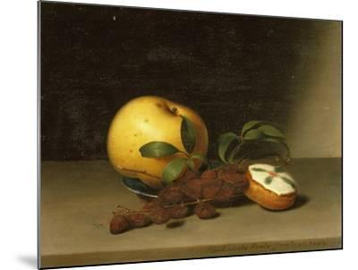 Still Life with Cake, 1822-Raphaelle Peale-Mounted Giclee Print