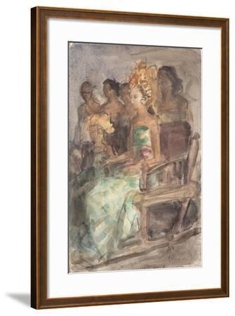 Indonesian Princess, 1890-Isaac Isra?ls-Framed Giclee Print