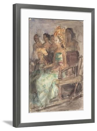 Indonesian Princess, 1890-Isaac Isra?ls-Framed Giclee Print