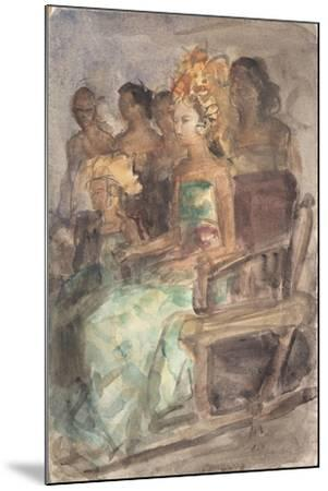 Indonesian Princess, 1890-Isaac Isra?ls-Mounted Giclee Print
