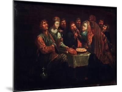 Peasant Feast-Al. Vishnekov-Mounted Giclee Print