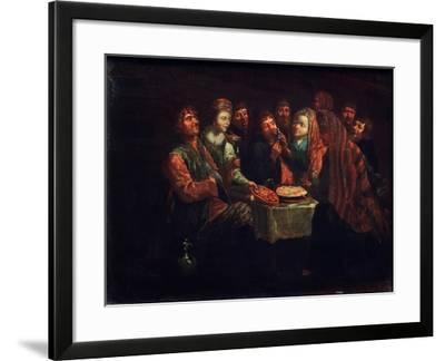 Peasant Feast-Al. Vishnekov-Framed Giclee Print