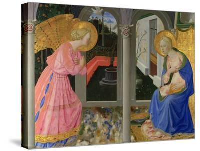 The Annunciation, C. 1440-Zanobi Strozzi-Stretched Canvas Print