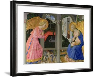 The Annunciation, C. 1440-Zanobi Strozzi-Framed Giclee Print