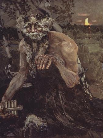 Pan, 1899-Mikhail Alexandrovich Vrubel-Framed Giclee Print