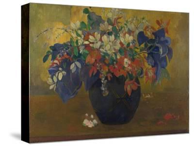 A Vase of Flowers, 1896-Paul Gauguin-Stretched Canvas Print