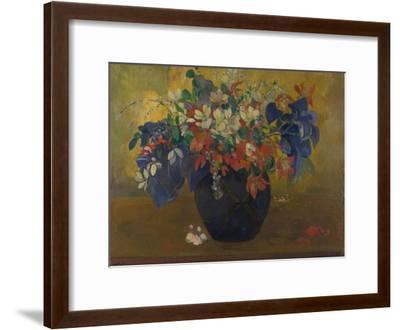 A Vase of Flowers, 1896-Paul Gauguin-Framed Giclee Print