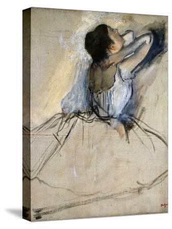 Dancer, C. 1874-Edgar Degas-Stretched Canvas Print