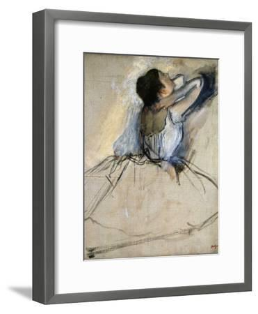 Dancer, C. 1874-Edgar Degas-Framed Premium Giclee Print
