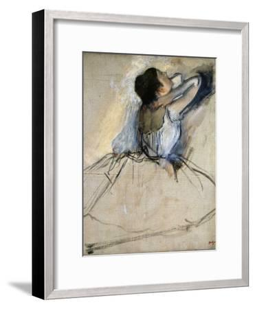 Dancer, C. 1874-Edgar Degas-Framed Giclee Print