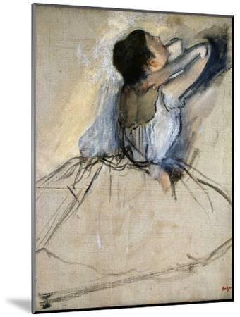 Dancer, C. 1874-Edgar Degas-Mounted Giclee Print