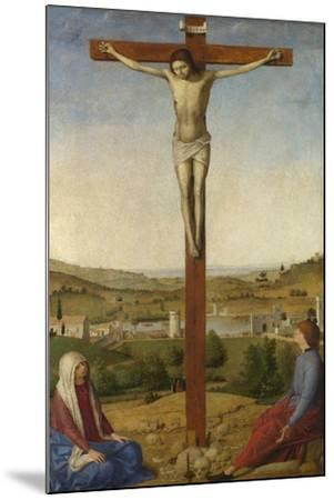 Christ Crucified, 1475-Antonello da Messina-Mounted Giclee Print