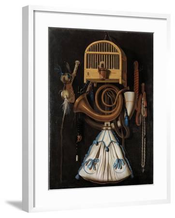 Hunting Gear, 1661- Leemans-Framed Giclee Print