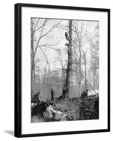 An Observation Point, 1915--Framed Giclee Print