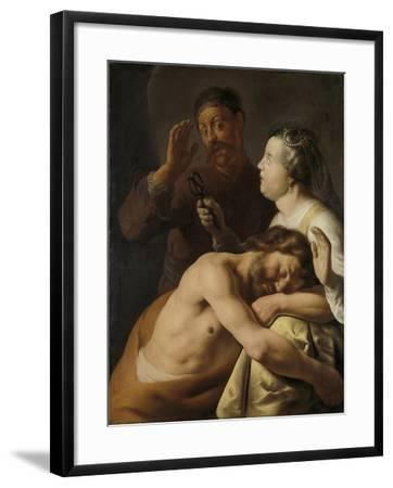Samson and Delilah, 1635-Jan Lievens-Framed Giclee Print
