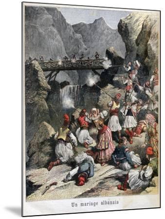 An Albanian Marriage, 1892--Mounted Giclee Print
