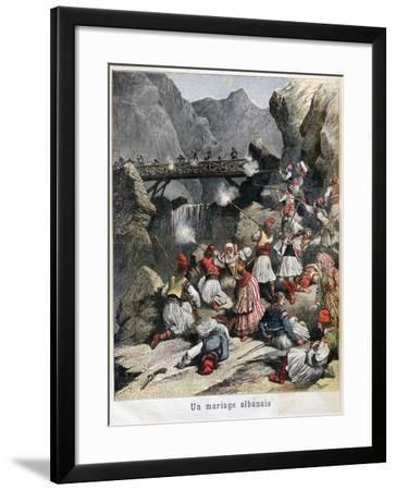 An Albanian Marriage, 1892--Framed Giclee Print