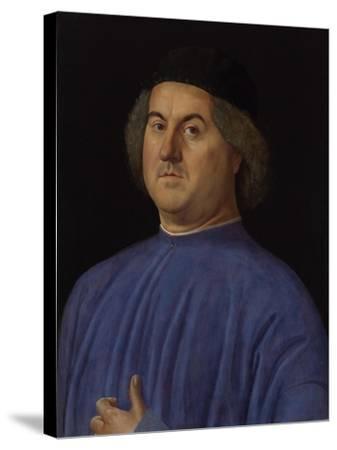 Portrait of a Man, 1497-Alvise Vivarini-Stretched Canvas Print