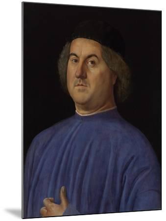 Portrait of a Man, 1497-Alvise Vivarini-Mounted Giclee Print