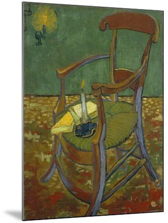 Gauguin's Chair, 1888-Vincent van Gogh-Mounted Giclee Print