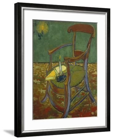 Gauguin's Chair, 1888-Vincent van Gogh-Framed Giclee Print