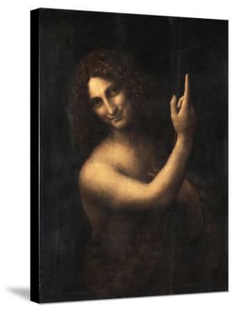 Saint John the Baptist, 1513-1516-Leonardo da Vinci-Stretched Canvas Print