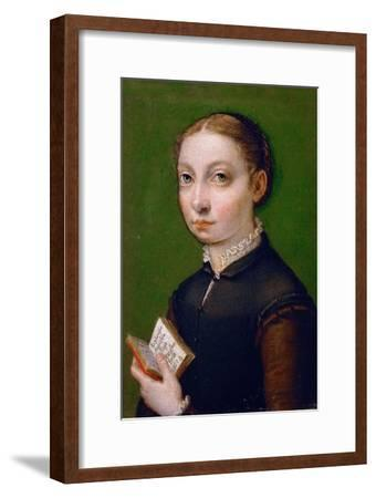 Self-Portrait, 1554-Sofonisba Anguissola-Framed Giclee Print