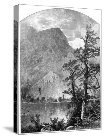 View of a Spur of the Blue Mountains, Delaware Water Gap, New Jersey, USA, 1877--Stretched Canvas Print